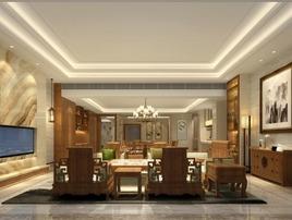 一心设计组 | 中式别墅设计·深圳兰乔圣菲别墅