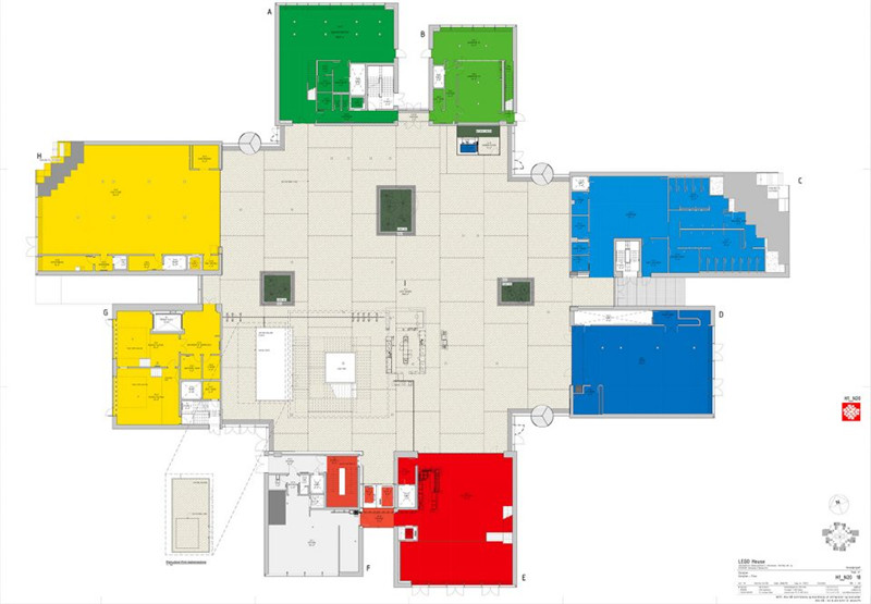 包括最新的拥有774块积木及197个搭建步骤的乐高之家模型套组.
