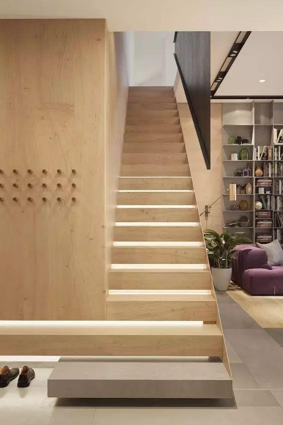 家庭楼梯设计,常用楼梯材质有哪些?