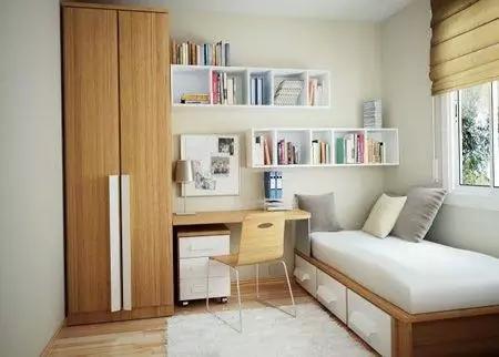 以上就是设计圈小编为大家分享的小户型书房装修效果图,小户型