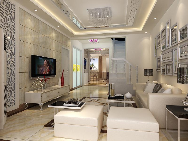 云南映象220平米复式装修效果图_王娟设计作品-设计圈