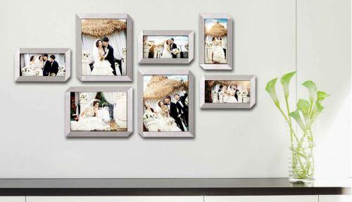 8个相框的照片墙怎么摆放好看(图11)
