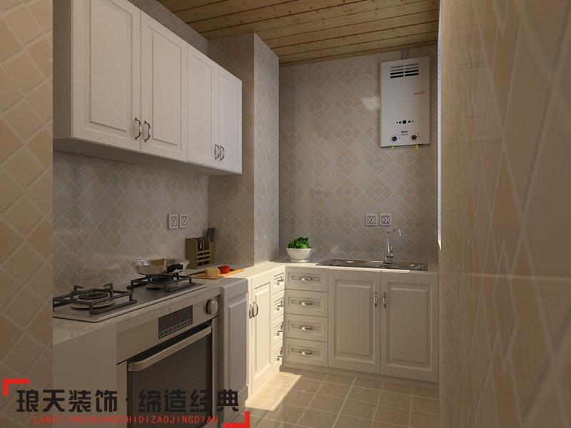 欧式厨房橱柜效果图