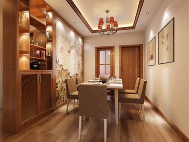 中国风的构成主要体现在传统家具(多为明清家具为主)
