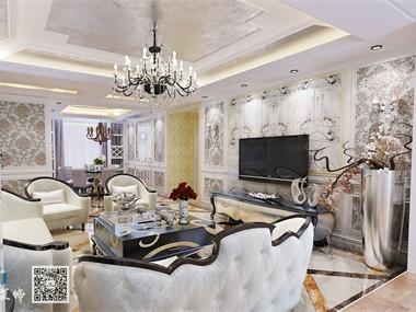 盛唐至尊295平方豪宅,新古典风格豪华装修