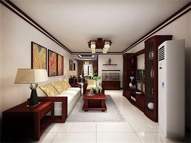 中国传统的室内设计融合着庄重和优雅的双重品质从室内