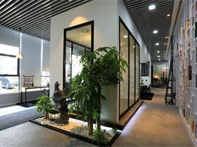 本果设计办公室办公空间吊顶