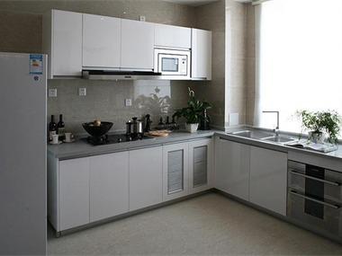现代厨房背景墙效果图