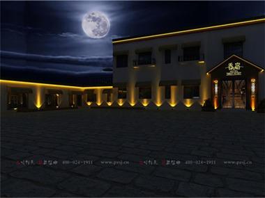 沈阳香宿特色创意主题宾馆项目设计外观