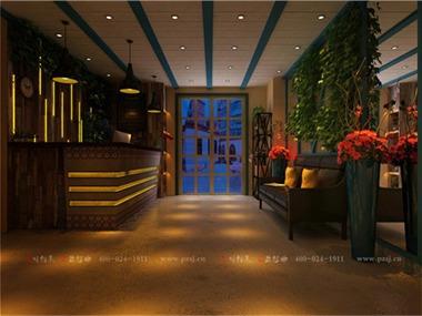 沈阳香宿特色创意主题宾馆项目设计前台