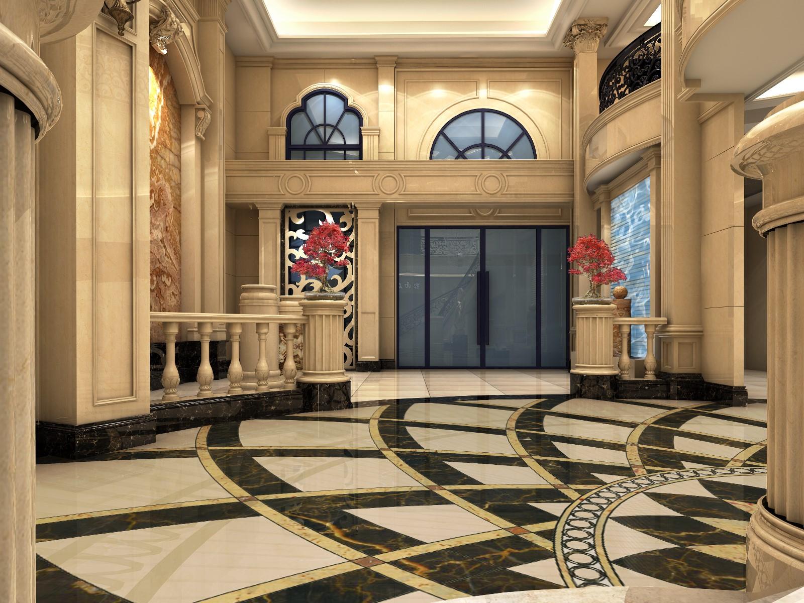 展厅大厅效果图