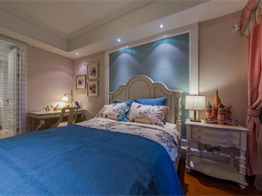 仁恒森兰美式公寓卧室