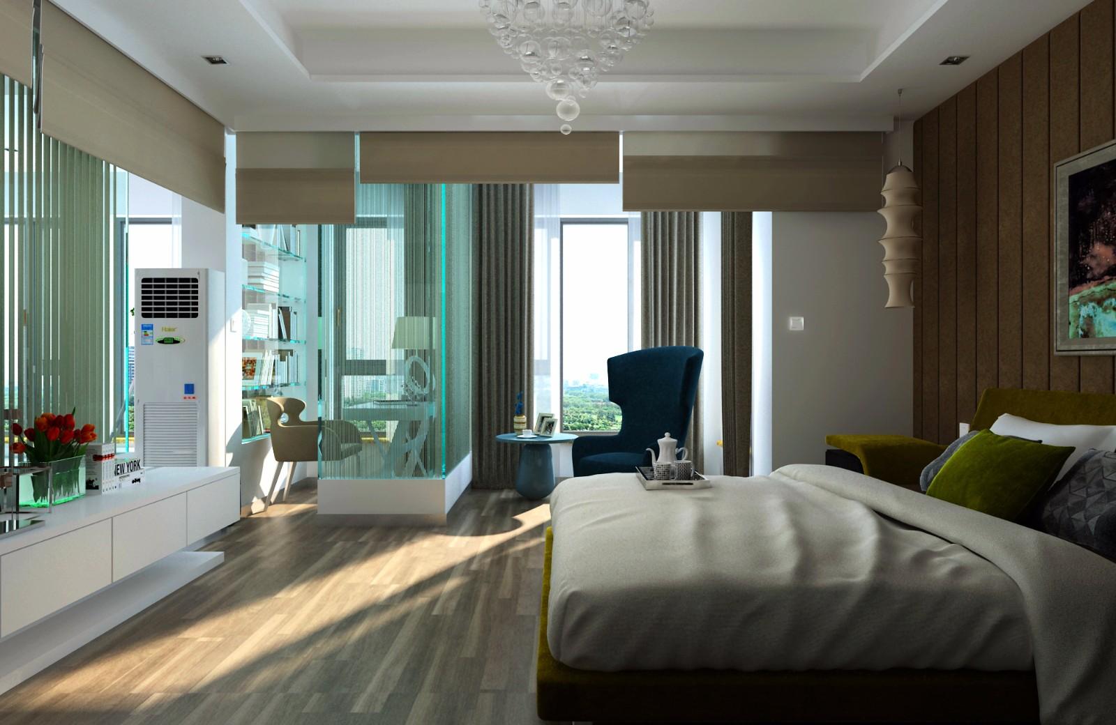 简约卧室其它效果图