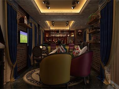 酒吧休闲区效果图