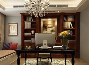 龙湖三室两厅两卫美式风格装修!!!