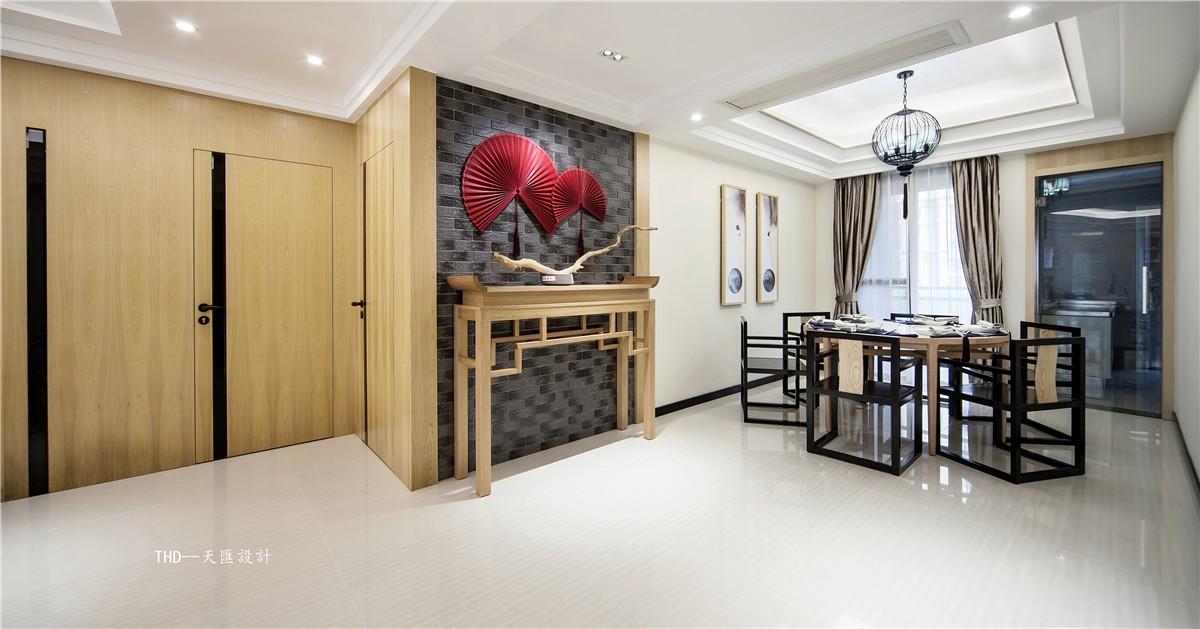 中式客厅吊顶实景图