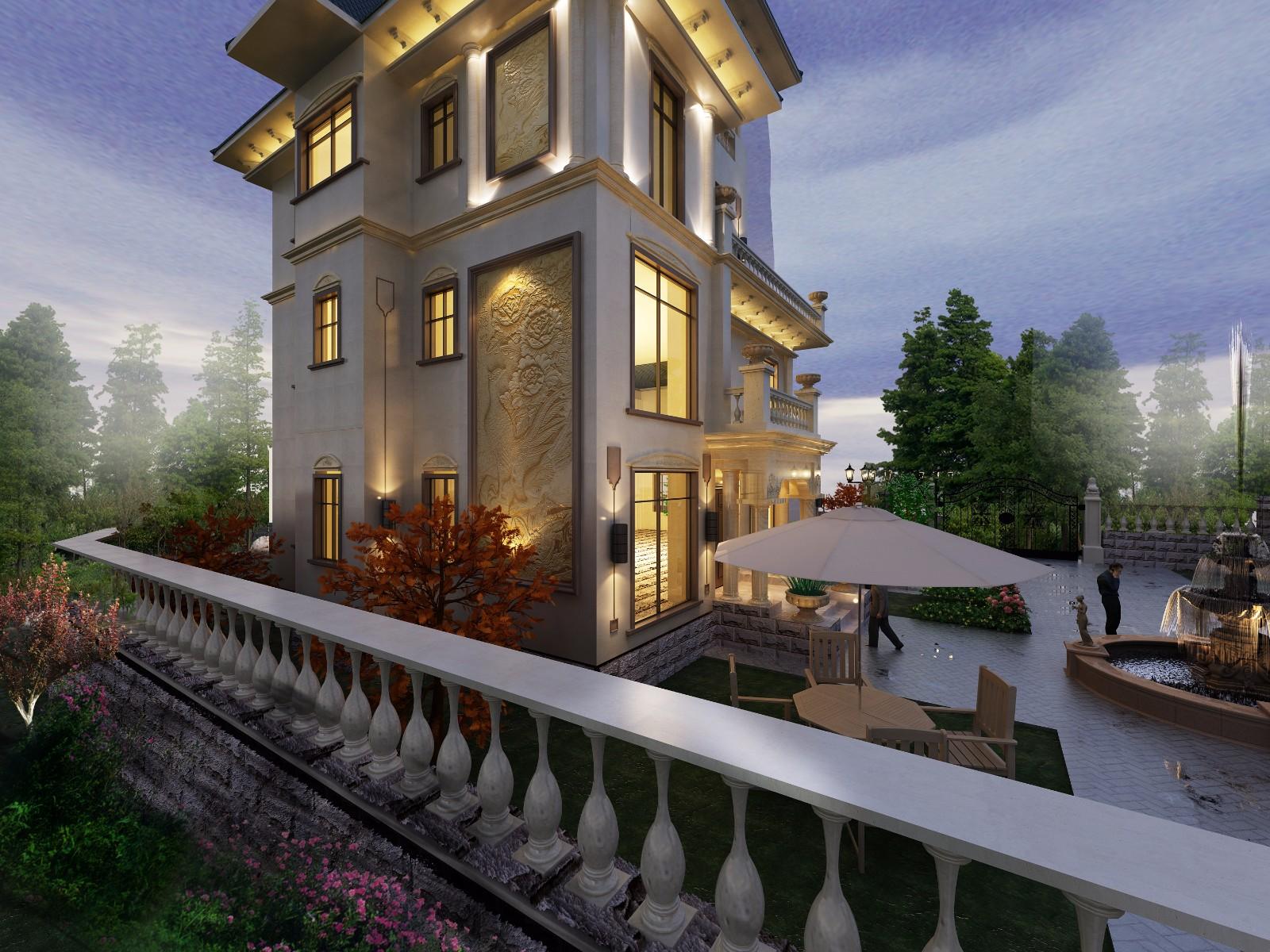 海南自建海景别墅20x31米丨建筑师作品展图片