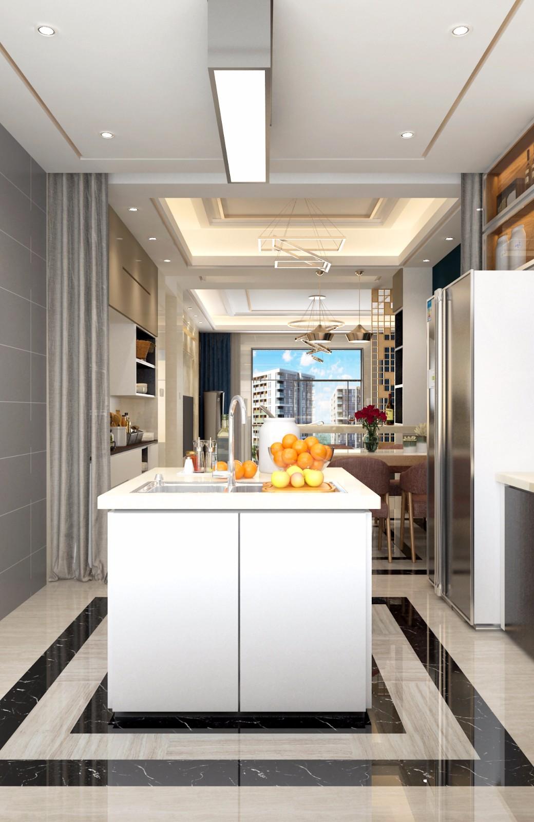 现代厨房其它效果图