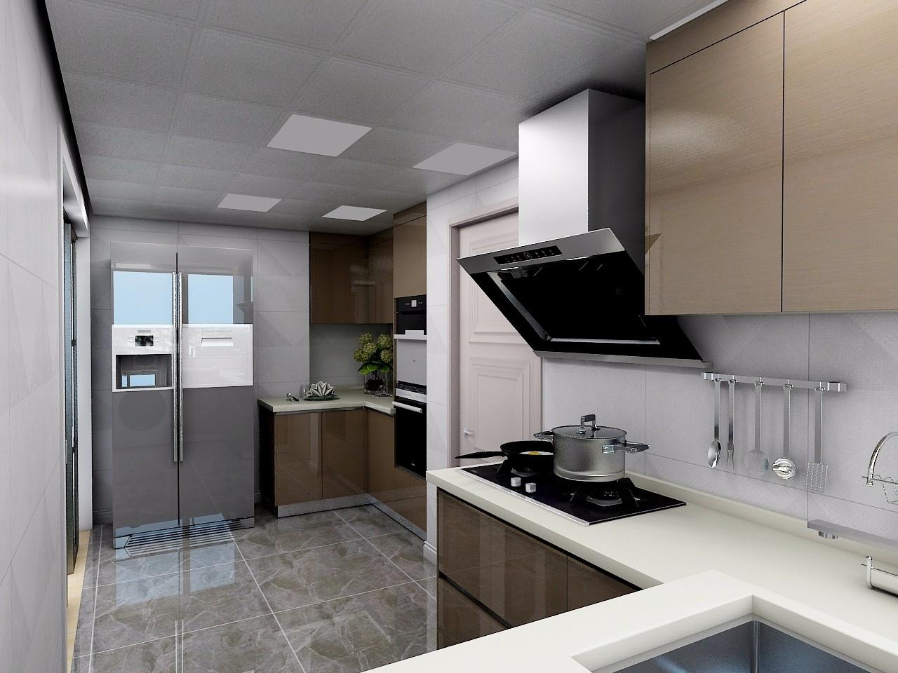 現代廚房吊頂效果圖
