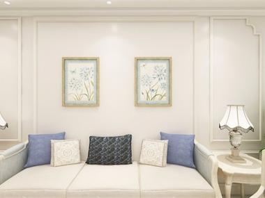 简?#25151;?#21381;沙发背景墙效果图