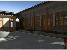 民宿小院|璞石设计|商业空间