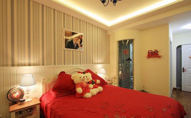 地中海风格婚房卧室