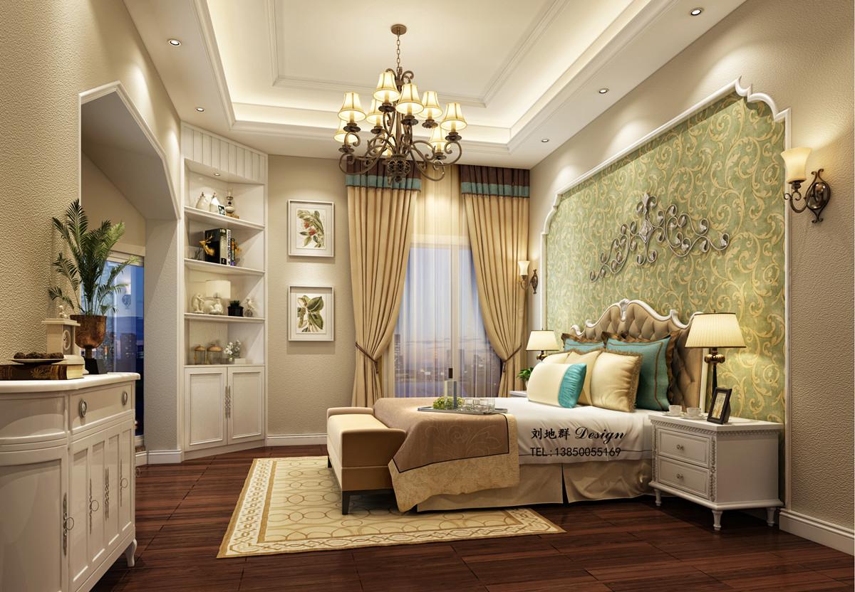 华盛顿的春天卧室