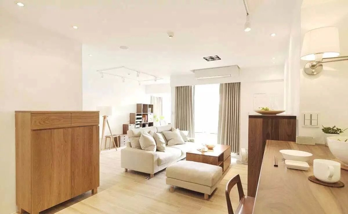铭城国际社区社区95平米二居室装修效果图_陈耀光设计