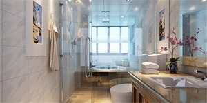 卫生间如何做玻璃隔断,卫生间玻璃隔断工艺