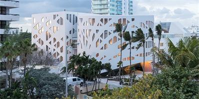 由荷兰OMA设计建造的Faena Forum文化中心建筑群完工