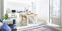 西班牙公寓改造 75平方米的清新小家