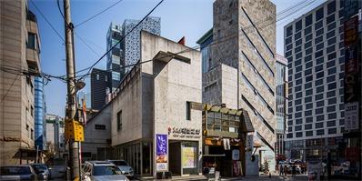 首尔建筑新趋势 一批几何体混凝土建筑悄然出现在城市