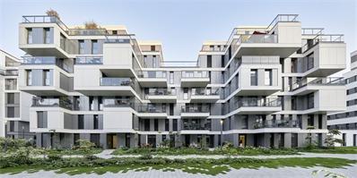 """德国住宅综合体""""园"""" 一个崭新的自有式和租赁式为一体的住宅区"""