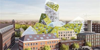"""荷兰MVRDV设计的这个住宅房顶被""""削""""掉一截,说是要试验未来可持续建筑"""
