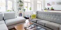 这间北欧公寓,利用对座沙发解决人多坐不下的问题