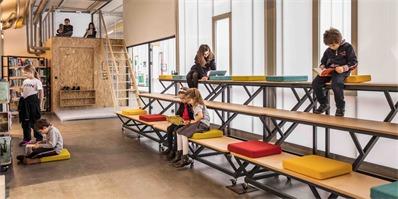 把教室设计成联合办公空间模样?这样还能好好学习吗