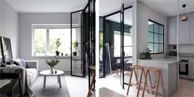 如何充分利用仅为37平米的小空间?这座瑞典公寓值得借鉴