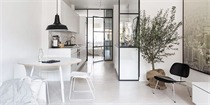 瑞典48平米纯白轻工业向公寓
