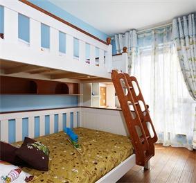 现代儿童房吊顶实景图