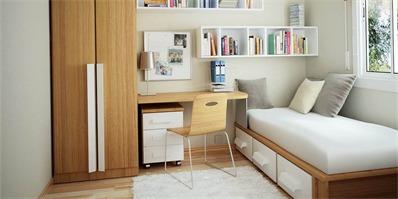 面积小的卧室如何装修?小卧室设计的4大空间放大术
