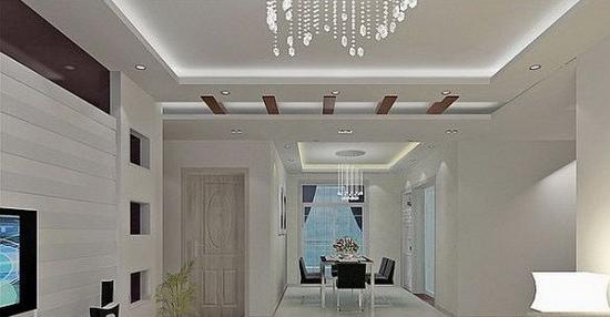 【风水】室内装修 客厅吊顶好风水助家庭和睦