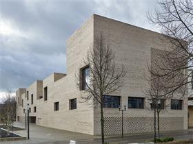 德国海登海姆市立图书馆揭幕,高度变化带来有秩序的阅读景观