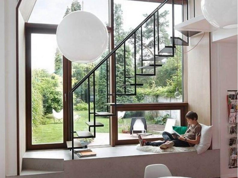 现代欧美家居, 13种不同的楼梯设计, 给你未来的家带来灵感