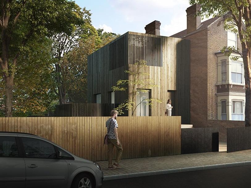 模块化房屋设计 拯救伦敦住房危机