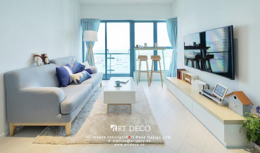 香港小学系北欧文化-°-≡+~O_白银室内班级国风蓝色墙设计图片中公寓图片
