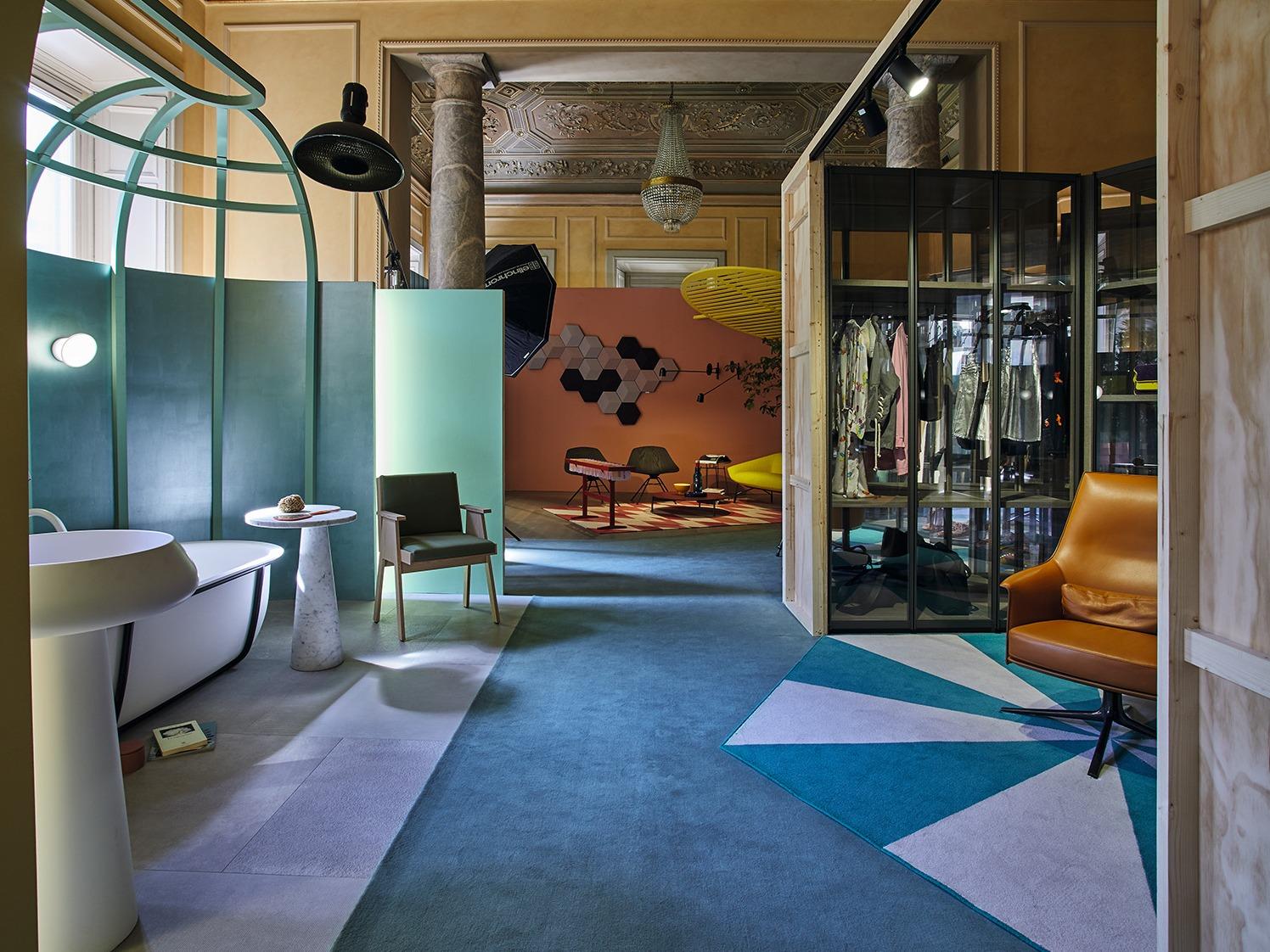 米兰Millennials at Home展览设计,关注年轻一代的生活方式