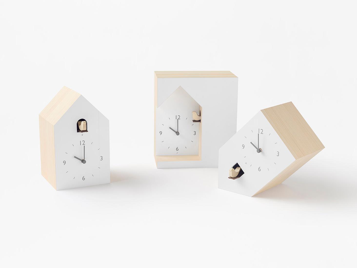 布谷鸟钟:非传统布谷鸟钟设计