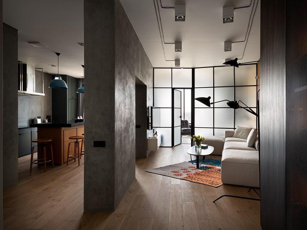 莫斯科现代时尚感住宅设计