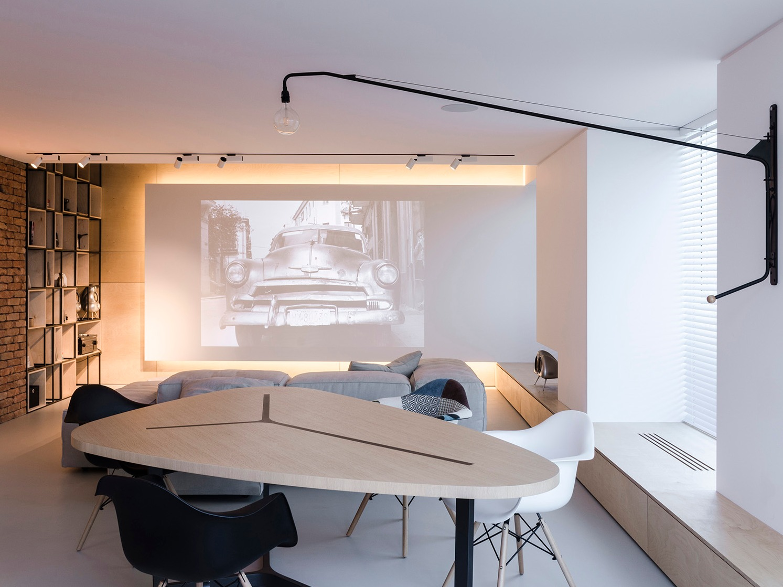 摩尔多瓦Soft Loft公寓设计:柔和,温暖,舒适的二人世界