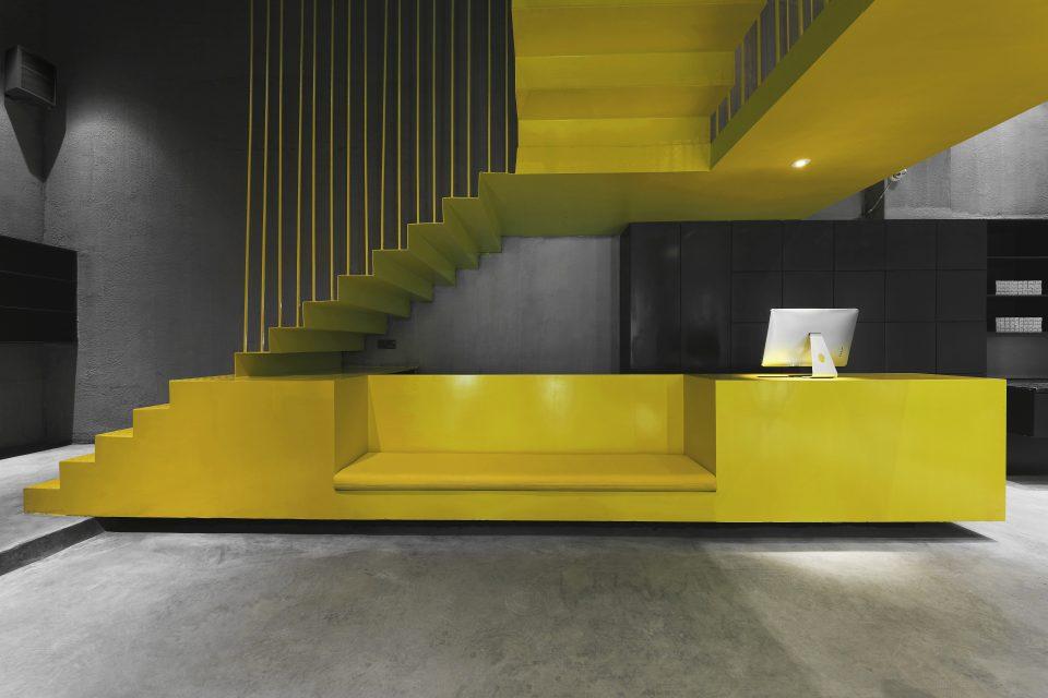福建层迭,一个很酷的美发空间╉ ˋ╘)╯ ┝  ?‵0_禹州客厅陈设设计